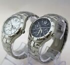 New Nautica NAD12556G Silver / NAD12553G Blue Dial Chronograph Men  Watches