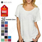 NEW Next Level Junior Fit Triblend Dolman Sleeve Relaxed Fit S-XL T-Shirt R-6760