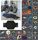 NFL Logo Motorcycle Garage Floor Mat * ALL TEAMS AVAILABLE * Protective Rubber
