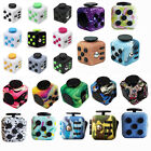 Vinyl Camouflage Fidget Cube Anxiety & Stress Reliever Adults Desk Dice Cube Toy