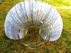 """Aluminum Air Ducting 6"""" or 8"""" x 25' with 2-Ply Clamps included"""