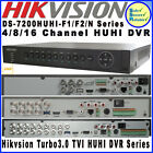 Hikvision AHD/HD-TVI/ONVIF HD Turbo 3.0 3MP CCTV DVR DS-7200HUHI-F1/F2/N Series