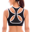 Women's High Impact Double Layer Wire Free Powerback Sports Bra