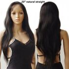 Hot Silk Top Glueless Brazilian Virgin Human Hair Full Lace Wig with Baby Hair s