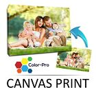 CANVAS PRINT YOUR PHOTO ON LARGE PERSONALISED BOX FRAMED -A4 A3 A2 A1 A0-280G <br/> ✔ Free Artwork Check ✔