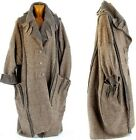long coat winter boiled wool big size woman taupe KARLA taupe