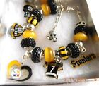 NFL PITTSBURGH STEELERS Ultimate Charm Bracelet Ben Roethlisberger FREE SHIPPING