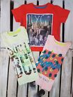 BOYS REBEL MULTICOLOURED SHORT SLEEVE T-SHIRT (K-8)
