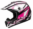 Gmax GM46.2Y  Traxxion Youth MX/Offroad/Snocross Helmet Black/Pink/White