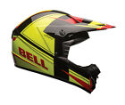 2016 Bell SX-1 ECE Offroad Helmet - Holeshot Yellow/Red Dirt Enduro MX Motorcros