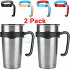 2 PCS Handle For 20 Oz Yeti Rambler Tumblers Rtic Cup Travel Drinkware Holder
