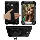 Shockproof Heavy Duty Armor Palmstrap Case Cover Skin for Galaxy Tab E 8.0 T377