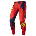 2017 Shift MX Mens 3LACK Mainline Pants - Navy Blue/Red Motocross Offroad Trail