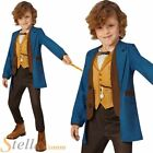 Boys Deluxe Newt Scamander Costume Fantastic Beasts Book Week Fancy Dress Outfit