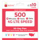 Red Pocket 90-Day Prepaid Wireless Phone Plan (Essentials)-No Contract,SIM Kit