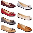 New Womens Lady Comfort Slip On Embellished Ballet Flats All Styles  Colors