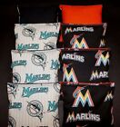 RARE! New  FLORIDA MARLINS MLB 8 CORNHOLE BEAN BAGS/ BAGGO Top Quality Handmade! on Ebay