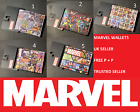 Novelty Marvel Superhero Comics Print Style Wallet's **BRAND NEW**