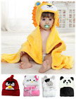 Cute Newborn Infant Baby Soft Animal Hooded Blanket