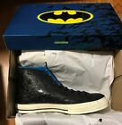 Converse Chuck Taylor ALL STAR Hi Top Shoes Batman DC Comics 70 Leather New