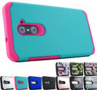 for ZTE Grand X4 Z956 Astro Rugged Hybrid Case Phone Cover + Prytool