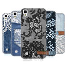 HEAD CASE DESIGNS JEANS AND LACES HARD BACK CASE FOR LG X POWER