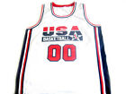 Custom Name And # Team USA New Men Basketball Jersey White Any Size