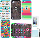 Kyпить Hybrid Shockproof 3 in 1 Case Cover For Apple iPod Touch 5th 6th Gen Generation на еВаy.соm