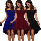 Fashion Women Summer Casual Off Shoulder Party Evening Cocktail Short Mini Dress