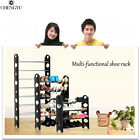 4/6/10 TIER SHELF SHOE RACK ORGANIZER STAND CUPBOARD FOR SHOES EASY ASSEMBLE