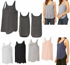 LADIES RELAXED FIT, ULTRA LIGHTWEIGHT, HIGH / LOW, SCOOP NECK, TANK TOP,  XS-2XL