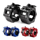 1 Pair of 50 mm Olympic Barbell Collars Spring Collars Dumbbell Spin lock
