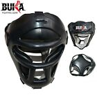 Detachable Bar Head Guard Helmet Boxing Martial Arts Gear MMA Protector Kick NEW