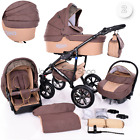 Baby Pram Buggy Newborn 3in1 Travel System Car Seat Stroller Pushchair Carrycot <br/> Diaper Bag.Rain Cover.Mosquito Net  &amp; ****FREEBIES****