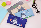 Canvas Totoro Cat Pencil Pen Case School stationary Cute Fab Gift Kids Party