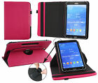 Universal Premium (7- 8 Inch) 360 Degree Rotating Padded Stand Folio Wallet Case