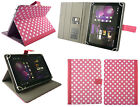 Universal Wallet Case Cover fits Hannspree Hannspad W71B 8 Inch Tablet