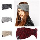 Women hairband knit headband crochet warmer Hair Band headwrap N98B