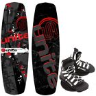 Base Sports REVOLVER 140 Unite Wakeboard Package Wakeboardbindung 2017 red