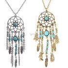New Bohemia Style Alloy Pendant Necklace Link Chain Fashion Jewelry Long DZ881