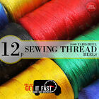 SEWING THREAD REELS COATS MOON SPUN HAND SEWING AND MACHINE POLYESTER 1000 YARD