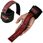 Weight Lifting Wrist Bar Straps Gym Bodybuilding Power Support Wraps Bandages