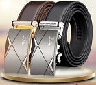 "Genuine SEPTWOLVES Men's Belts Real Leather Fashion Black/Brown Auto W28""-44"""