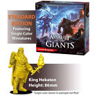 D&D Assault of the Giants Standard Edition Board Game