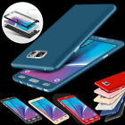 New Hybrid 360° Protection Case & Tempered Glass for Samsung Galaxy J7 J5 Prime