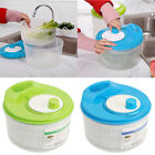 Large Salad Spinner Drying Vegetable Lettuce Herb Dryer Draining Bowl Container