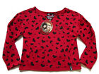 I Love The Veronicas Red Hearts Winter Girls Top