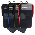 AP MOTORSTORE Black Carpet Universal Car Mats Fits Renault Clio - Choose Trim