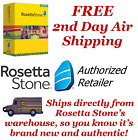 Rosetta Stone Spanish 1 2 & 3 Latin America Homeschool ~Audio Companion ~Headset
