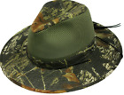 NEW Henschel Hats MOSSY OAK Camo AUSSIE BREEZER Hunting Fishing Hiking Hat NWT